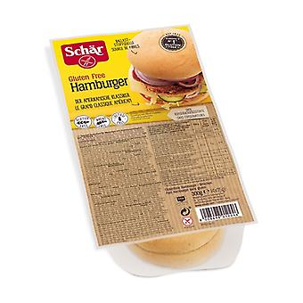 Gluten-free Hamburgers Bread 4 units of 75g