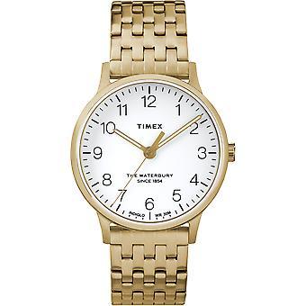 TW2R72700, Waterbury Originals Modern Ladies Watch / Blanc