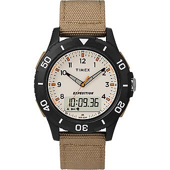 TW4B16800, Timex TW4B16800 Men's Expedition Katmai Combo Brown Fabric Strap Watch