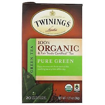 Twinings Lontoon Orgaaninen Puhdas vihreä tee