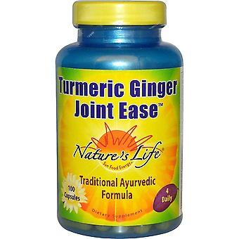 Nature's Life, Curcuma Ginger Joint Ease, 100 Capsules