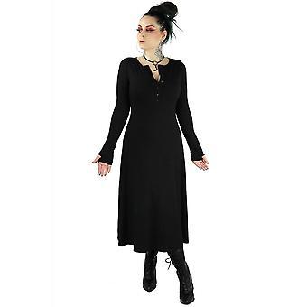 Foxblood Fiona Henley Thumb Hole Dress