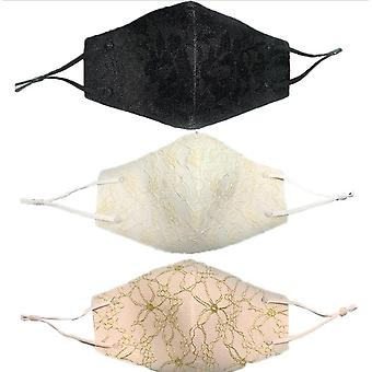 Fashion Women's Breathable, Washable Reuse Lace Cloth