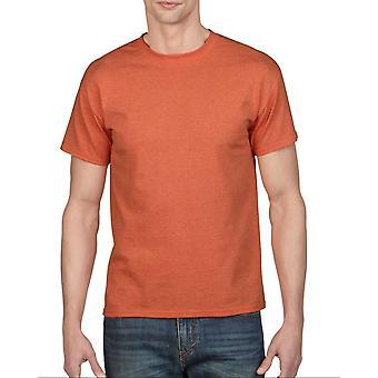 Gildan G5000 Plain Heavy Cotton T Shirt in Sunset
