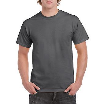 Gildan G5000 Plain Heavy Cotton T Shirt in Dark Heather