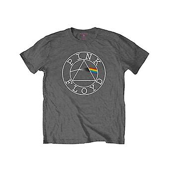 Pink Floyd Kids T Shirt Circle Band Logo Official Charcoal Grey (Ages 3-14 yrs)