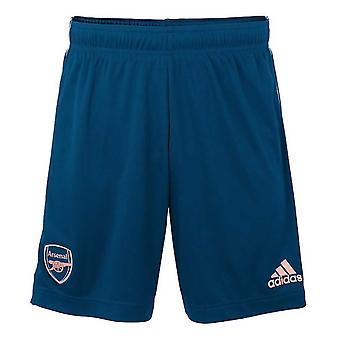2020-2021 Arsenal Adidas Third Shorts (Blue)