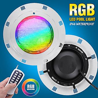 Rgb Led Swimming Pool Light -ip68 Waterproof With Ac12v-24v