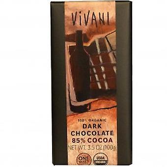 Vivani - Orgaaniset tumma suklaa 85 % kaakaota 100gx10