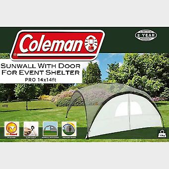 New Coleman Sunwall Dvere pre akcie Shelter Pro (14' x 14') Silver