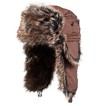 Balboa WTH407 Trooper Hat W/ Brown Fur - Brown