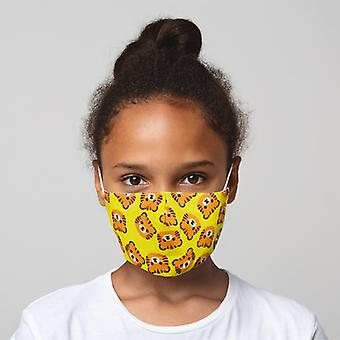 Cutiemals Tiger Reusable Face Covering - Small X 1 Pack