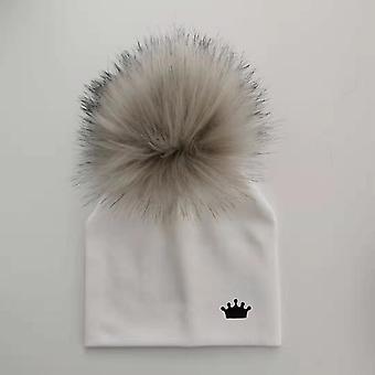 Baby Katoenhoeden, Pom Crown Hat