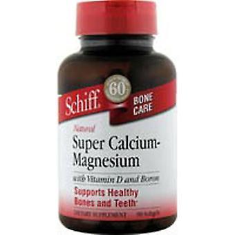 Schiff/Bio Foods Super Calcium, Magnesium 90 Sftgls