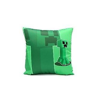 Minecrafted Creeper algodón almohada, Enderdragon cómodo cojín con cremallera
