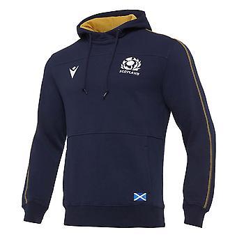 2020-2021 Scotland Heavy Cotton Hoody (Navy)
