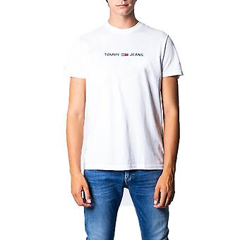 Tommy hilfiger white men t-shirt