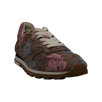 Coach Kvinnor's Skor Kaffe C118 SIG LTR Låg Top Lace Up Fashion Sneakers