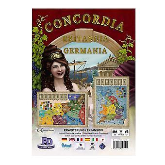 Concordia Britannia/Germania Board Game
