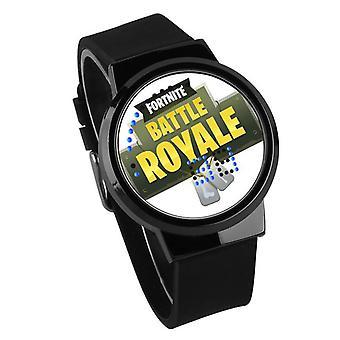Nepremokavé svetelné LED hodinky Digital Touch Children - Fortnite #59