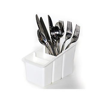 Delfinware Cutlery Basket Plastic White 2500