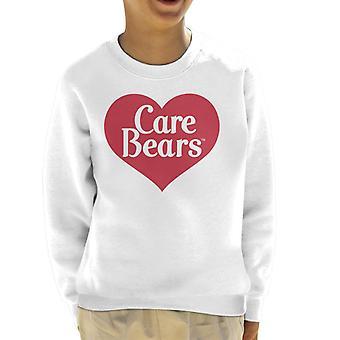 Pflege Bären Liebe Herz Logo Kid's Sweatshirt