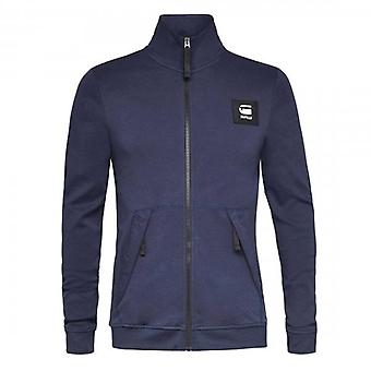 G-Star G- Star Raw Full Zip Track Top Navy Blue D18649