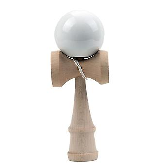 Full Crack Pu Paint Wooden Kendama Ball, Skillful Juggling Game Toy