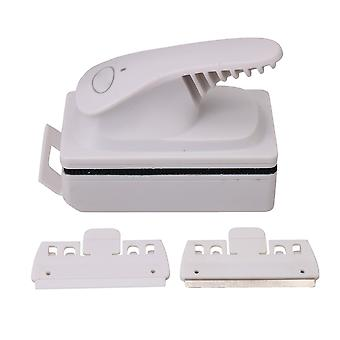 Magnetic Algae Cleaning Glass Scraper for Fish Tank Size 40-60cm White
