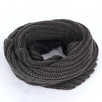 Autumn, Winter-knitted Pullovers And All-purpose Scarves