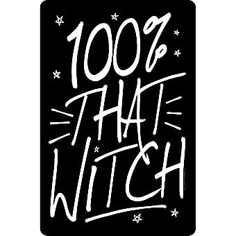 Grindstore 100% That Witch Plaque
