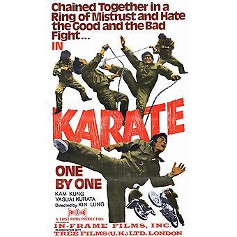 Karate yksitellen elokuvan juliste tulosta (27 x 40)