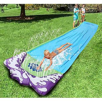 4.8m's Waterslide-pvc Surfing Spray Sheet With Sprinkler System