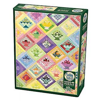 Cobble hill puzzle - fruit basket quilt
