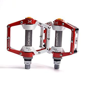 """Plataforma plana aleación de aluminio sellado rodamiento 9/16"""" Pedales de bicicleta para MTB Road Mountain Fijo Gear Bicicleta"""