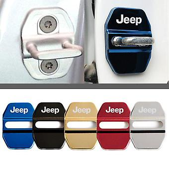 Car Door Lock Cover Auto Emblems For Jeep Grand Cherokee Commander Renegade