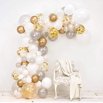 Wedding or anniversary diy balloon arch kit - includes over 120 balloons