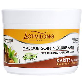 Activilong Shea Maslo a fyto-proteíny Výživná maska na starostlivosť o vlasy 200 ml - 6,8 fl.oz.
