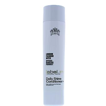 label.m Daily Shine Conditioner 300ml All Hair Types