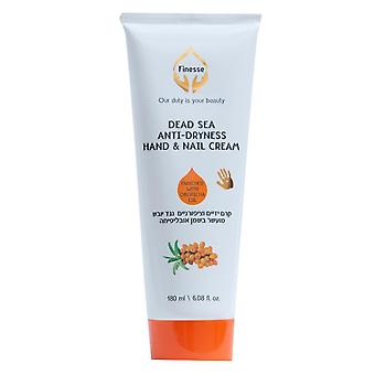 Dead Sea Anti-dryness Hand & Nail Cream - Enriched With Oblipicha Oil