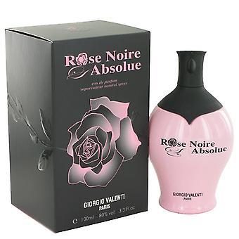Rose Noire Absolue by Giorgio Valenti Eau De Parfum Spray 3.4 oz / 100 ml (Women)