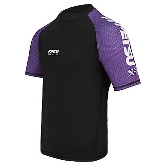 Fumetsu Concurrent MK1 Short Sleeve Rash Guard Violet