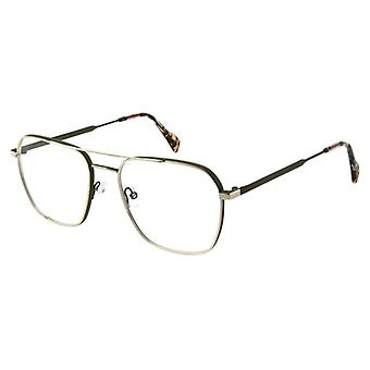 Andy Wolf 4758 F Grey-Gold Glasses