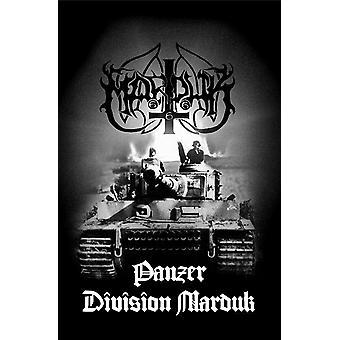Marduk Poster Panzer Division Band Logo new Official Textile Flag 70cm x 106cm