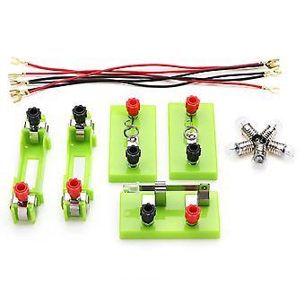 Grappige elektrische circuit kits kinderen school wetenschap speelgoed Montessori leren fysieke experiment modus