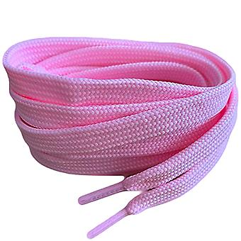 Pale Pink Flat Trainer Shoelaces Laces