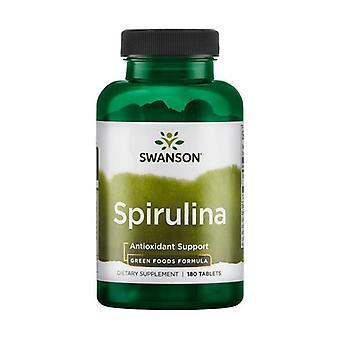 Spirulina, 500mg 180 tablets