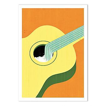 Plakat artystyczny - Pamplin grove - Joey Guidone