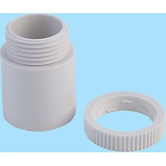 Schneider Electric ISM80058 Tower Male Adapter 20mm White (Box of 100)