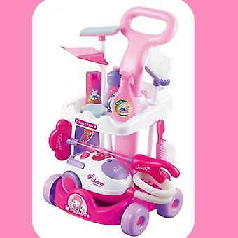 Simulated Cleaning Tool Carriage-small Home Appliances For Pretend Play